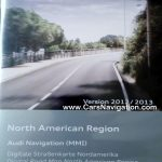 2013 Audi MMI 2G Navigation DVD North America