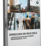2013 BMW Navigation DVD Road Map Europe PROFESSIONAL 3 DVD Set