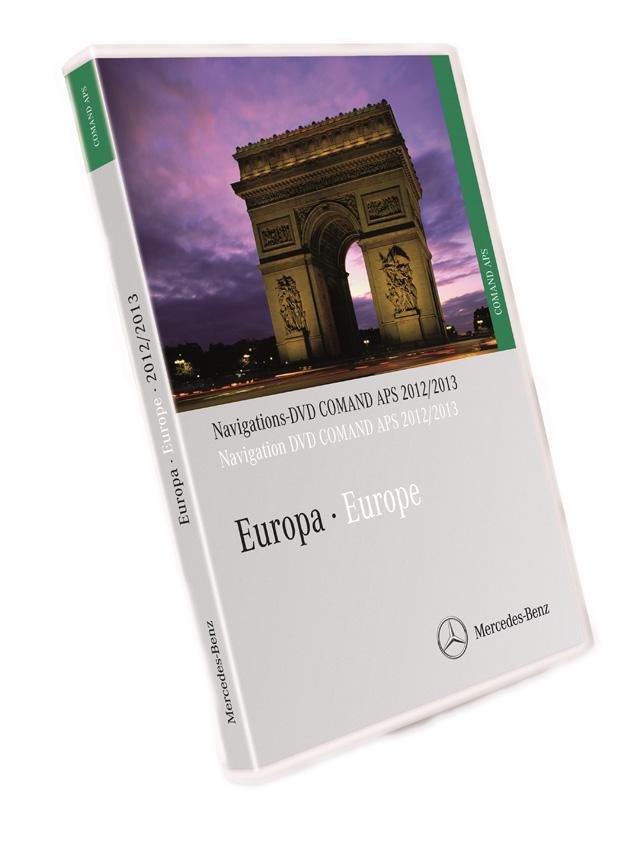 2012 2013 mercedes comand dvd europe aps ntg1 car. Black Bedroom Furniture Sets. Home Design Ideas