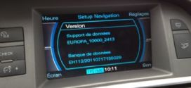2014 Audi MMI 2G Europa DVD Maps