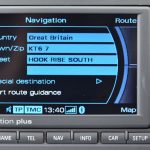 2014 Audi Navigation Plus RNS-E Central East & West Europe