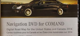 2014 Mercedes-Benz North America-Canada Map DVD Harman Becker Comand NTG1 v.13