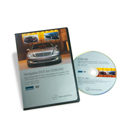 2014 Mercedes-Benz NTG3 North America-Canada DVD v13.0
