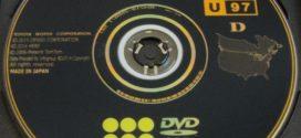 2016 Toyota-Lexus North American Navigation DVD GEN6 V.15.1 U97 D