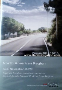 2012-2013 Audi MMI 2G Navigation DVD North America Latest !!