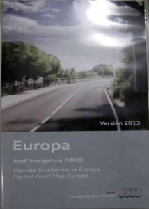 Audi Europe NAvigation DVD 2013 MMI 2G
