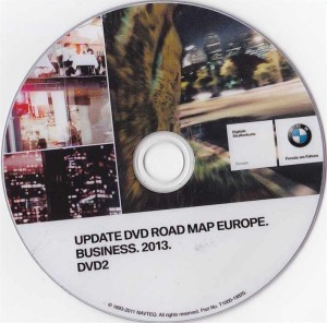 2013 BMW Navigation DVD Road Map Europe BUSINESS Eastern Europe DVD 2