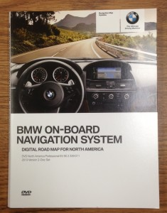 2013 BMW North American Maps Professional