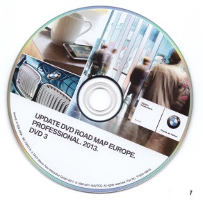2013 BMW/MINI Navigation DVD Road Map Europe PROFESSIONAL