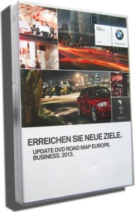 2013 BMW Navigation DVD Road Map Europe BUSINESS