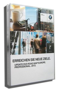 2013 BMW Navigation DVD Road Map Europe PROFESSIONAL