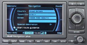 Audi Navigation Plus RNS-E Central East & West Europe BQ 2014