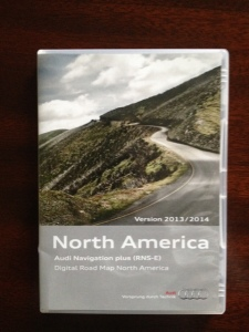 Audi Navigation Plus RNS-E North America – Canada p/n 8P0060884BP