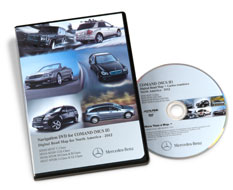 2014 Mercedes-Benz NTG2 USA/CANADA DVD v11.0