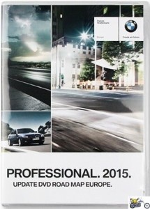 BMW Update DVD Road MAP Europe Professional 2015