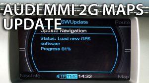 2016 Audi MMI 2G Navigation DVD North America – Car Navigation Maps
